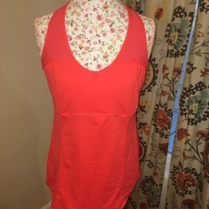 Lululemon Cool Red Racerback Tank sz 12